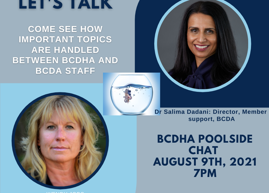 Join us for our next Poolside Chat!